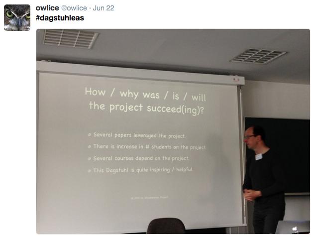 Ralf presenting