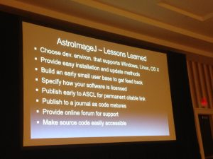 AstroImageJ lessons learned