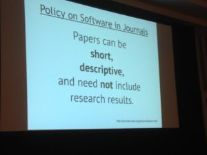 Papers can be short, descriptive, and need not include research results